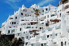 Casapueblo, built by Uruguayan artist Carlos Paez Vilaro, Uruguay
