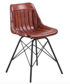 Ella eetstoel, Eleonora meubelen, draaipoot hout, 3 kleuren ...