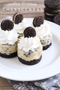 Cookies and Cream Cheesecake recipe. awesome dessert idea!