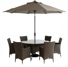 Perfect for when you want to have your friends over for a summer soiree. This Rochelle 6 Seat Dining set has both comfort & quality. Garden Furniture, Outdoor Furniture Sets, Outdoor Decor, Enjoy The Sunshine, Dining Set, Patio, Friends, Summer, Home Decor