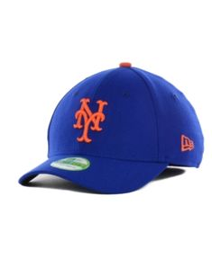 New Era New York Mets Team Classic 39THIRTY Kids' Cap or Toddlers' Cap - Blue Toddler
