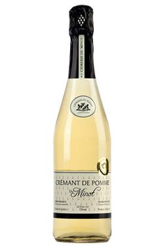 Cidrerie du Minot Crémant de #pomme: excellent #cidre mousseux! Apple Cider, Wines, Canning, Bottle, Catalog, Apple, Home Canning, Flask, Brochures