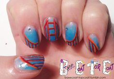 basecoat-topcoat:  SF RED GIANT - Daily/weekly challenge - day 7...