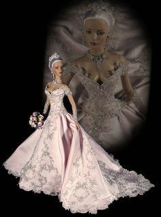 Vestidos de noiva para Barbie para inspirar nossas criações