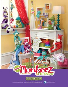 This ad for Genuine Monkeez & Friends™ appeared in the December edition of Gifts and Decorative Accessories Magazine.
