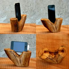 iPhone Wood Dock | #Senzae
