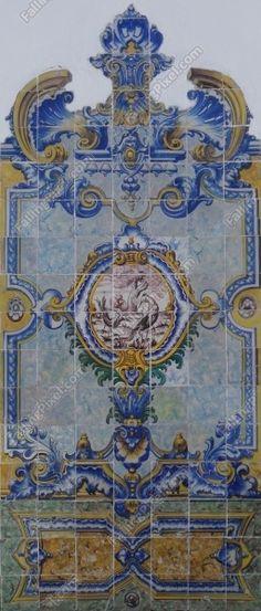Portuguese Tiles  Structural Textures - Azulejos