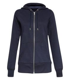 New Look Navy Basic Zip Up Hoodie 3467154 Cover the basics with this zip up hoodie, perfect as a casual cover up throughout the seasons.- Zip up fastening- Hooded design- Simple long sleeves- Pocket front- Casual fit- Model is 58/176cm and we http://www.MightGet.com/march-2017-1/new-look-navy-basic-zip-up-hoodie-3467154.asp
