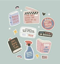 We put together a list of incredible books by female authors. Stickers Kawaii, Cute Stickers, Journal Stickers, Planner Stickers, Korean Stickers, Diy Organisation, Good Notes, Book Memes, Book Aesthetic