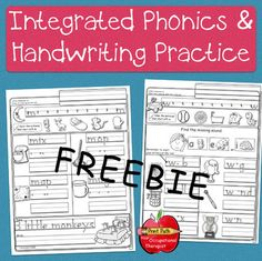 If you have taught your children conventional letter formations but they are not. Spelling And Handwriting, Handwriting Worksheets, Handwriting Practice, Spelling Help, Letter Formation, Kindergarten Worksheets, First Grade, Grade 1, Phonics