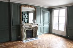 57 New Ideas Wall Color Green Farrow Ball Farrow And Ball Living Room, Living Room Green, Bedroom Green, Bedroom Wall Colors, Studio Green, Farrow Ball, Deco Design, Living Room Inspiration, House Painting