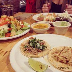 Enchiladas for lunch at La Casita Gastown in Vancouver BC #CANADA #VANCOUVER #gastown #downtown #LaCasita #enchiladas #mexicanfood #캐나다 #밴쿠버 #개스타운 #다운타운 #라카시타 #멕시코음식 #먹스타그램 #맛스타그램    Source: instagram.com/rrr_eunhyung  La Casita Gastown Mexican Food Restaurant 101 West Cordova str, V6B 1E1 Vancouver, BC, CANADA Phone: 604 646 2444 Email: info@lacasita.ca http://lacasita.ca