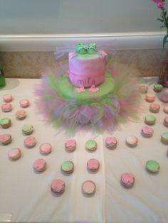 Girl Baby Shower cake!