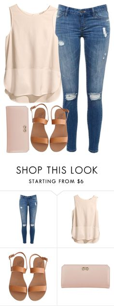 """Mariel"" by dreamtoparis ❤ liked on Polyvore featuring H&M, Ancient Greek Sandals and Zodaca"