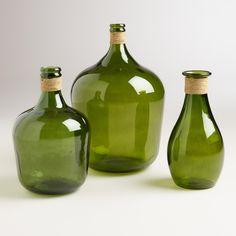 Green Teardrop Seville Vase - World Market Still Life Drawing, Still Life Art, Still Life Photos, Life Pictures, Bottle Design, Glass Design, Bottles And Jars, Glass Jars, Paint And Sip