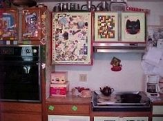 Whimsical style kitchen whimsical decor style for Artsy kitchen ideas