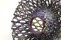 sculptural harakeke by Birgit Moffatt