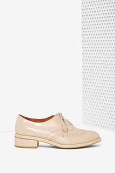 Leather Oxford / these are always in style //