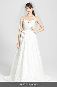 Lace Applique corset bodice wedding dress