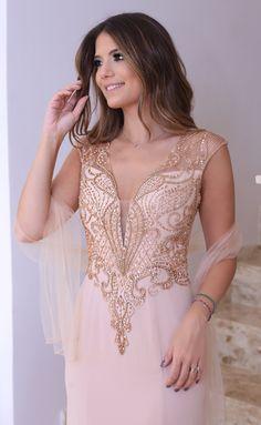 Dolps bordado festa fest vestido dress 2016 2017 lux luxo casamento formatura Night noite alta costura