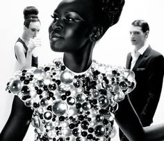 Alek Wek: Black is Beautiful!