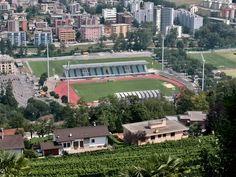 Cornaredo Stadium - FC Lugano, Switzerland Football Stadiums, Lugano, Switzerland, Mansions, Architecture, House Styles, Home Decor, Arquitetura, Decoration Home