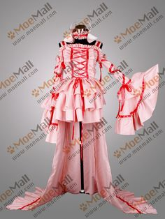 Chobits Chii Pink Lolita Cosplay Costume Party Dress - $139.00 : www.moemall.com