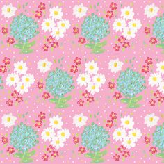 mothers day bouquet  fabric by fabricfarmer_by_jill_bull on Spoonflower - custom fabric