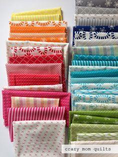 crazy mom quilts: good neighbors fabric in hand