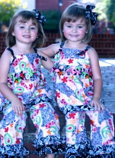 outfits I made for my granddaughters