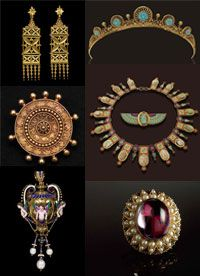House of Castellani Circa 1800's to Early 20th Century, beauty Italian Jewels...
