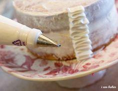 Ruffle cake tutorial. Doing this soon!