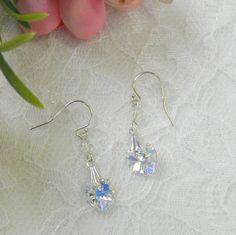 Swarovski Crystal Heart earringsSwarovski Heart by LS4Swarovski