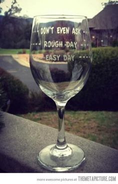 Great idea to make for friends for special occasions with a dollar store glasses