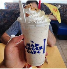 Mad Greek Cafe Restaurant Features Baklava Milkshake Products #food trendhunter.com