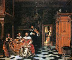 Dutch Master Paintings: Pieter de Hooch