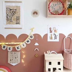 The perfect addition to any nursery, children's room or playroom it looks equally as good in a more grown up space too, this design is a firm. Baby Bedroom, Nursery Room, Girl Nursery, Girls Bedroom, Nursery Decor, Childs Bedroom, Kid Bedrooms, Baby Decor, Kids Decor