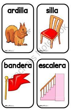 Rhyming words in Spanish