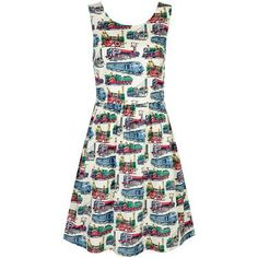 Domestic Sluttery: Have Dress, Will Travel: Transport Print Dresses