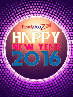 Ready Deals Wishes You A Very Happy & Prosperous New Year. #HappyNewYear2016 #HNY2016 #HappyNewYear
