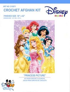 A Princess Picture Crochet Afghan Kit