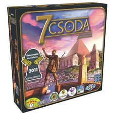 76 Best Board Games of All Time - How many have you played? Fun Board Games, Games To Play, 7 Wonders Board Game, Fair Games, Building Games, Game 7, Buy Toys, Seven Wonders, Jouer