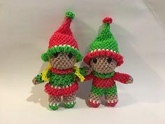Amigurumi Monster Crochet Patterns : Rainbow loom, Rubber bands and Loom on Pinterest