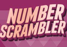 Number Scrambler   Fun Ninja