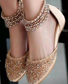 Bridal Wear Latest Khussa Designs 2017- Bridal FootWear