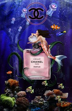 Chanel Water by IndigoFlamingo