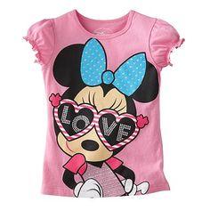 Disney Minnie Mouse Love Tee