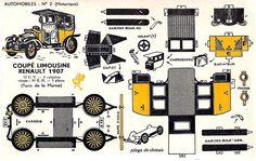 Il favoloso mondo di carta di Totò: Coupé Limousine Renault 1907