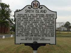 Somerset County History about Smith Island!!