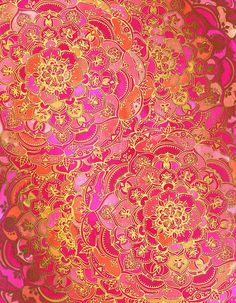 #Wallpaper #Fondo #hermoso #Rosa #Dorado #Pink #Gold